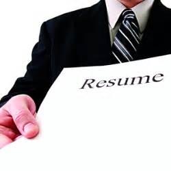Resume candidates service distribution jobseeker